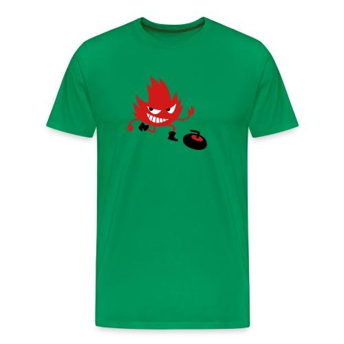 Leif Curling - Men's Premium T-Shirt