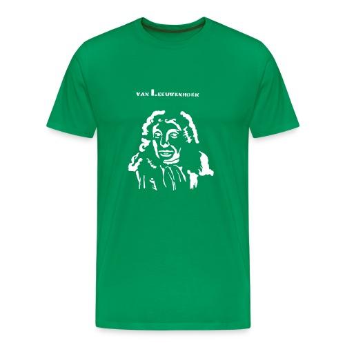 Antonie van Leeuwenhoek - Men's Premium T-Shirt