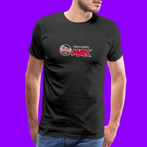 SarcasticMax cola beverage logo - Men's Premium T-Shirt