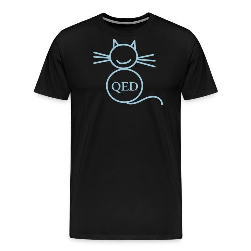 QED cat - Men's Premium T-Shirt
