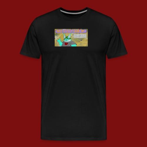 K-0SS Kat and necessary k-0SS header - Men's Premium T-Shirt