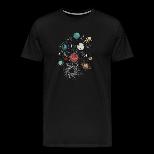 Space game - Men's Premium T-Shirt