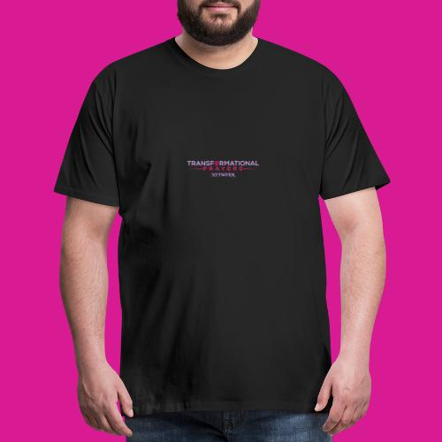 TRANSFORMATIONAL PRAYERS NETWORK DESIGN - Men's Premium T-Shirt