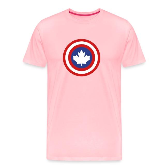 Captain Canada Shield 3 Colour