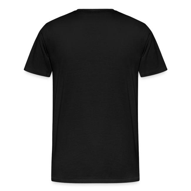 Gothic Knight Men's Standard Black T-shirt