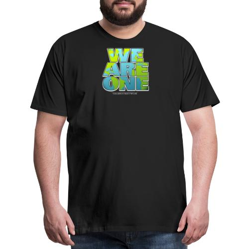 We are One png - Men's Premium T-Shirt