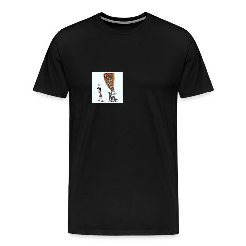Less mobile more books - Men's Premium T-Shirt