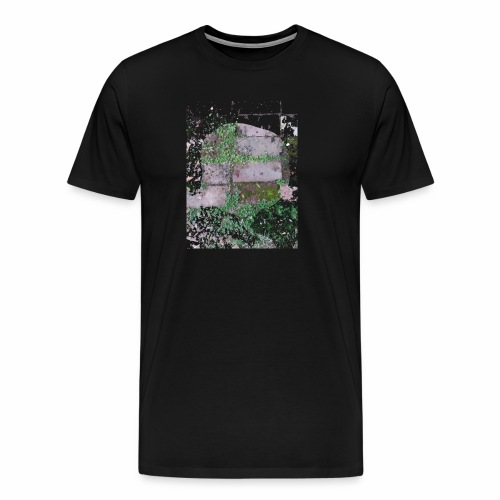 Bricks and nature - Men's Premium T-Shirt