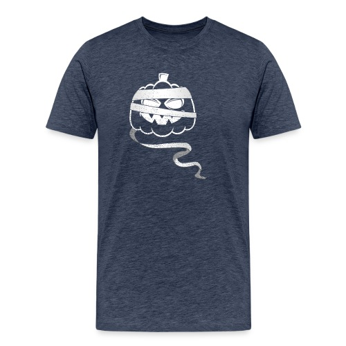 Halloween Bandaged Pumpkin - Men's Premium T-Shirt