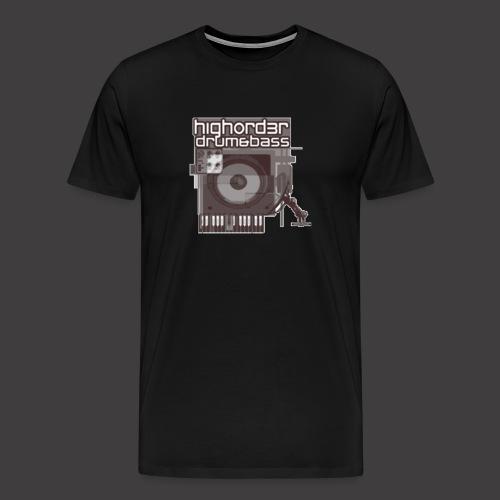 High-Order-logo-Mono - Men's Premium T-Shirt