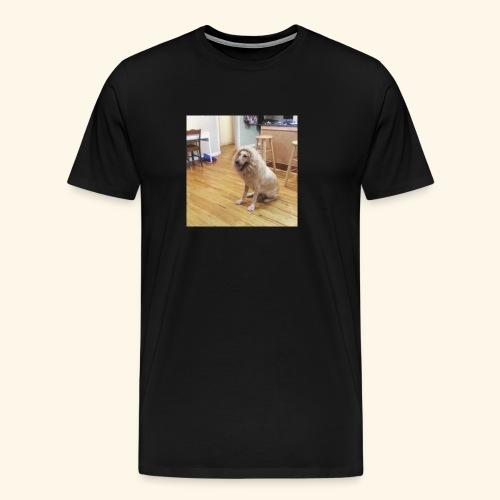 lion dog - Men's Premium T-Shirt