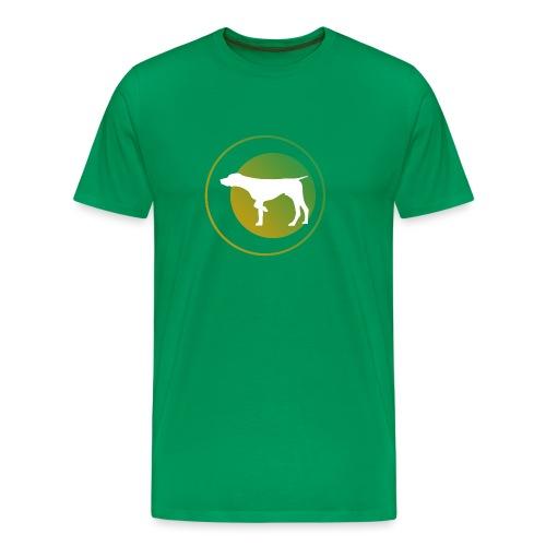 German Shorthaired Pointer - Men's Premium T-Shirt