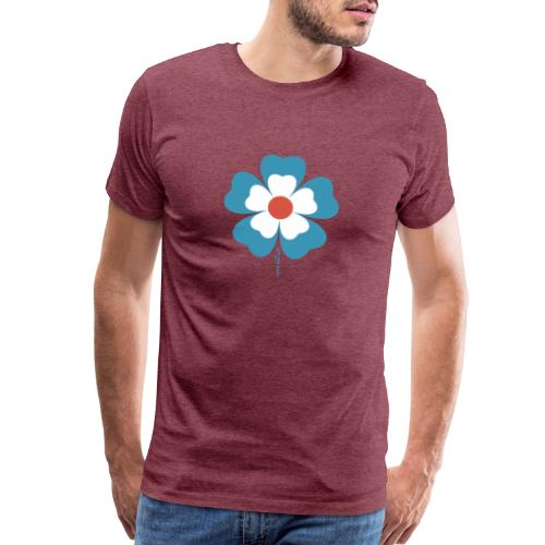 flower time - Men's Premium T-Shirt