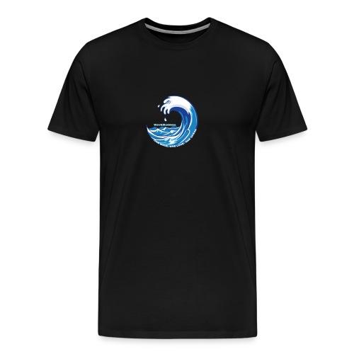 Splash, Drip, Wave - Men's Premium T-Shirt