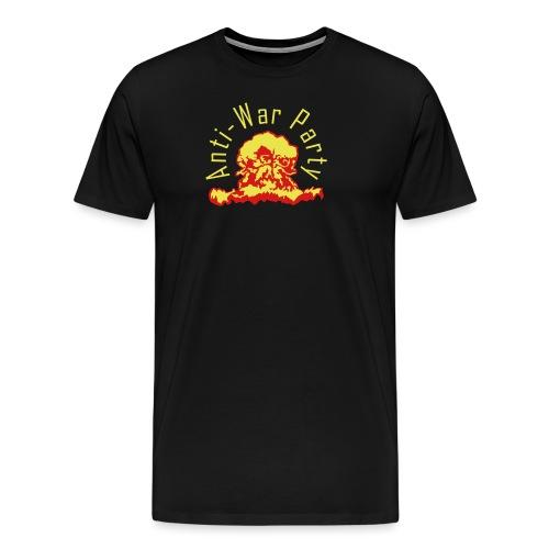 Anti-War Party yellow glo - Men's Premium T-Shirt