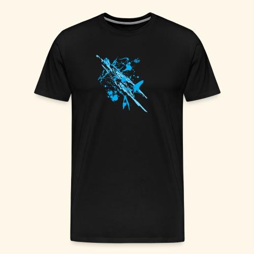 Blue Splash - Men's Premium T-Shirt