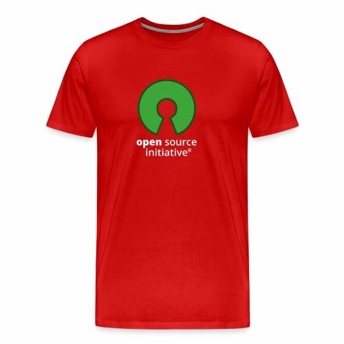 osi_logotype_color_to_whi - Men's Premium T-Shirt