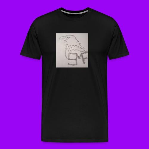 SMF EAGLE LOGO - Men's Premium T-Shirt
