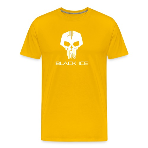 Black Logo Type Vector - Men's Premium T-Shirt