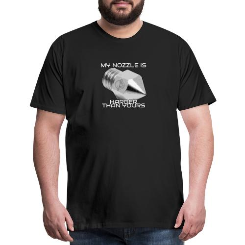 My Nozzle is Harder Than Yours - Men's Premium T-Shirt