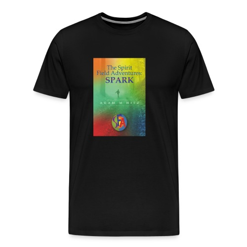 The front cover for The Spirit Field Adventures. - Men's Premium T-Shirt