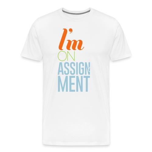 IOMA - Men Black - Men's Premium T-Shirt