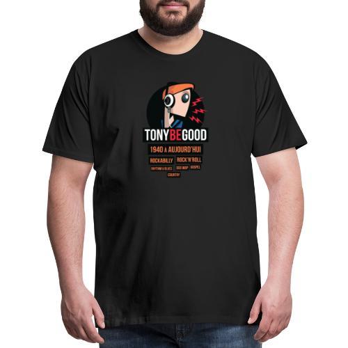 Tony Be Good - Logo - Men's Premium T-Shirt