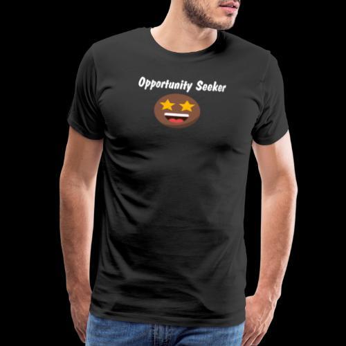 opportunity White - Men's Premium T-Shirt