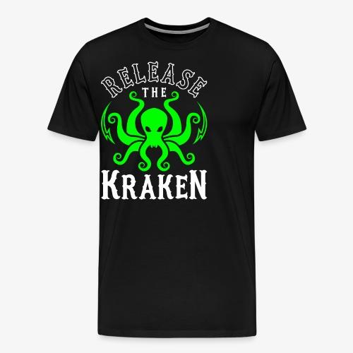 Release The Kraken - Men's Premium T-Shirt