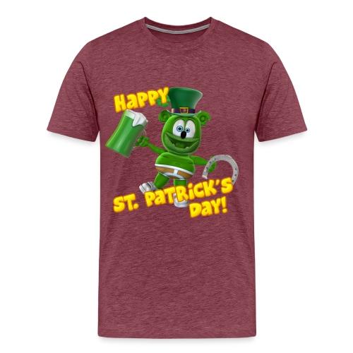 Gummibär (The Gummy Bear) Saint Patrick's Day - Men's Premium T-Shirt