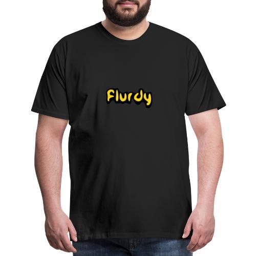 flurdy warped - Men's Premium T-Shirt
