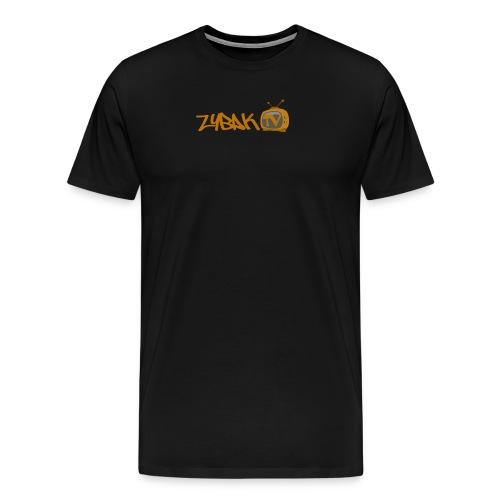 logo cut zybak tv - Men's Premium T-Shirt