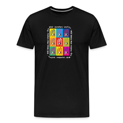 Mobile Web Initiative - Men's Premium T-Shirt