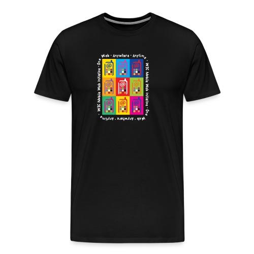 Mobile Web Initiative - Men's Premium T-Shirt