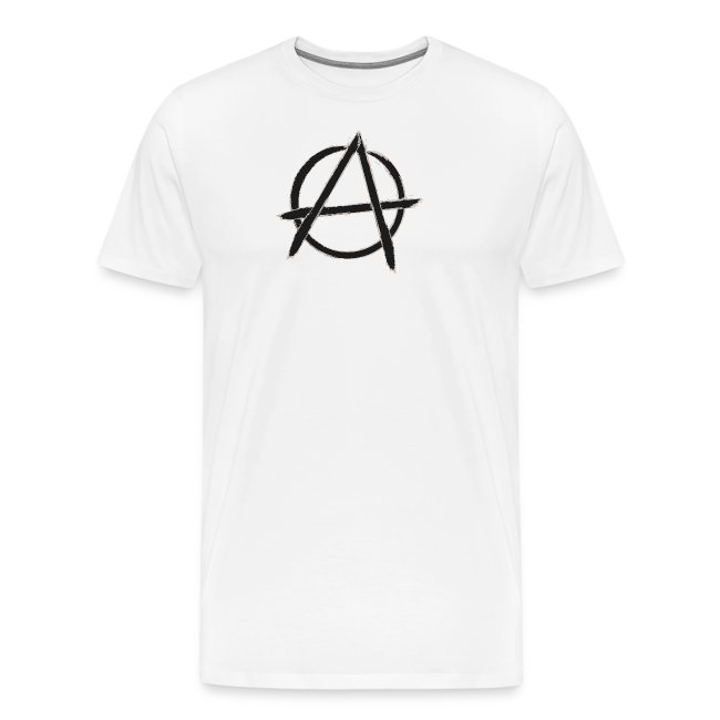 Anarchy in black silver
