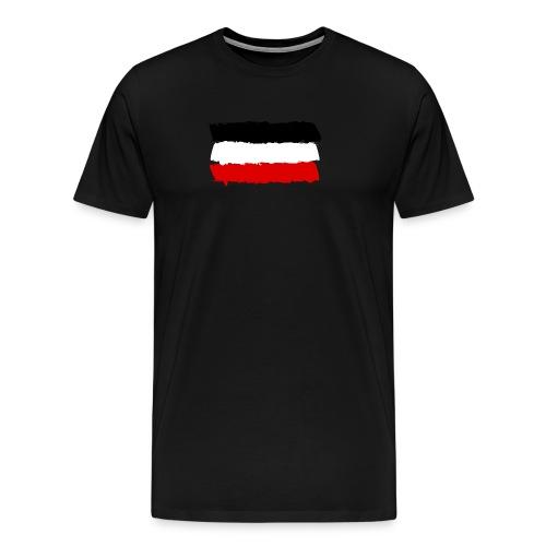 Deutsches Reich flag - Men's Premium T-Shirt