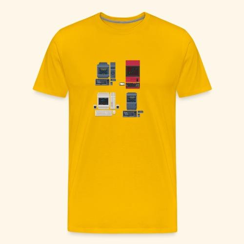 japanese computers - Men's Premium T-Shirt