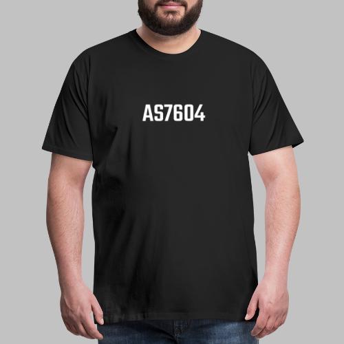 AS7604 White - Men's Premium T-Shirt