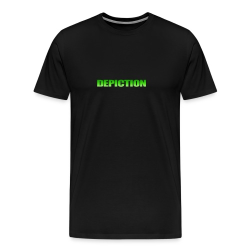 Depiction Impact [GREEN] - Men's Premium T-Shirt