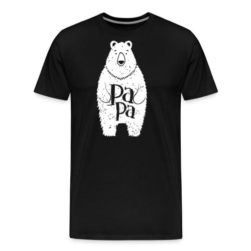 Funny Big Papa Bear Hug Shirts - Men's Premium T-Shirt