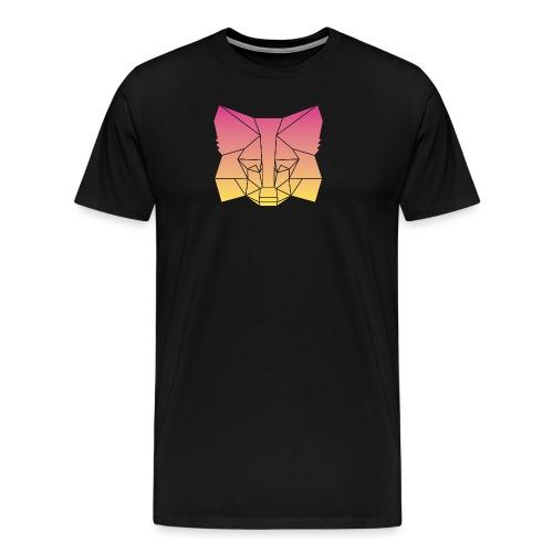 Sunset Fox - Men's Premium T-Shirt
