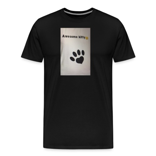 Stay Awesome kitties - Men's Premium T-Shirt
