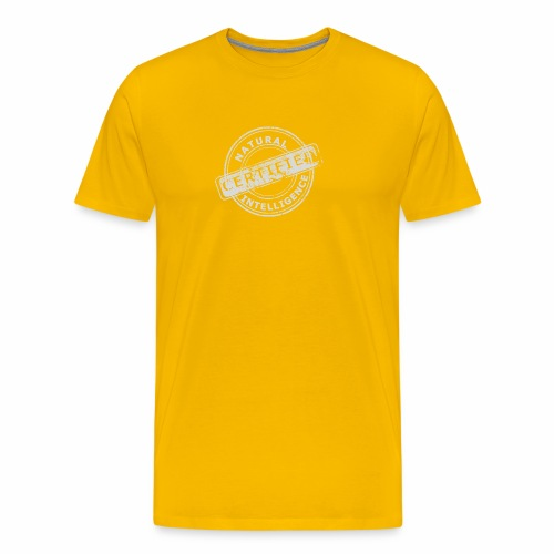 Natural Intelligence inside - Men's Premium T-Shirt