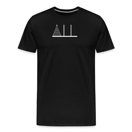 hanoiwhite2 - Men's Premium T-Shirt
