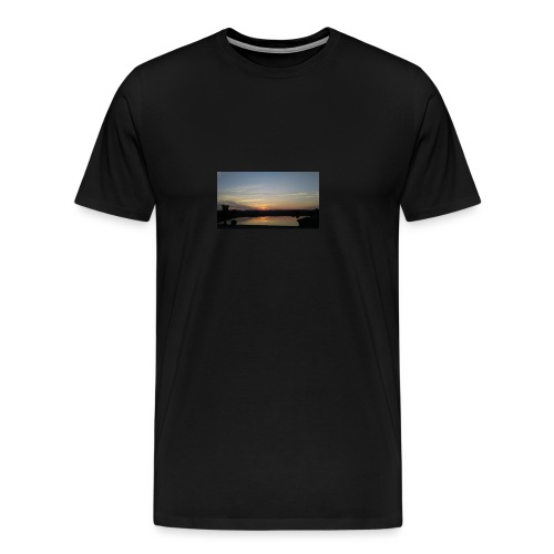 Sunset on the Water - Men's Premium T-Shirt