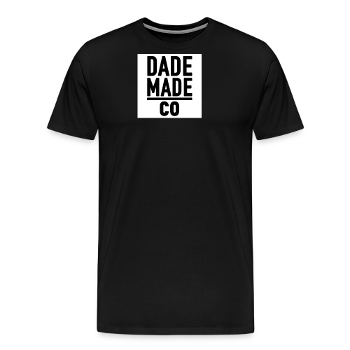 dademadelogo - Men's Premium T-Shirt