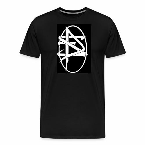 DTS Society w circle white - Men's Premium T-Shirt