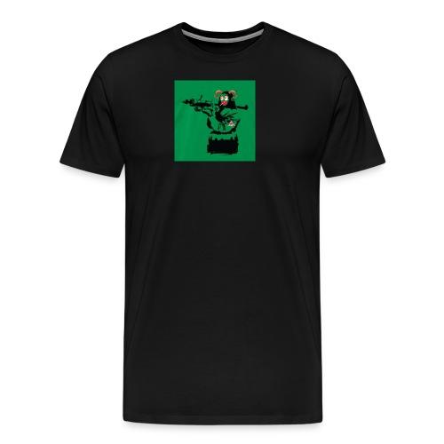 Baskey mona lisa - Men's Premium T-Shirt