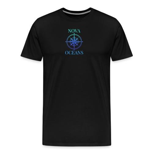 logo_nova_oceans - Men's Premium T-Shirt