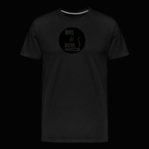Bake Break Logo Cutout - Men's Premium T-Shirt